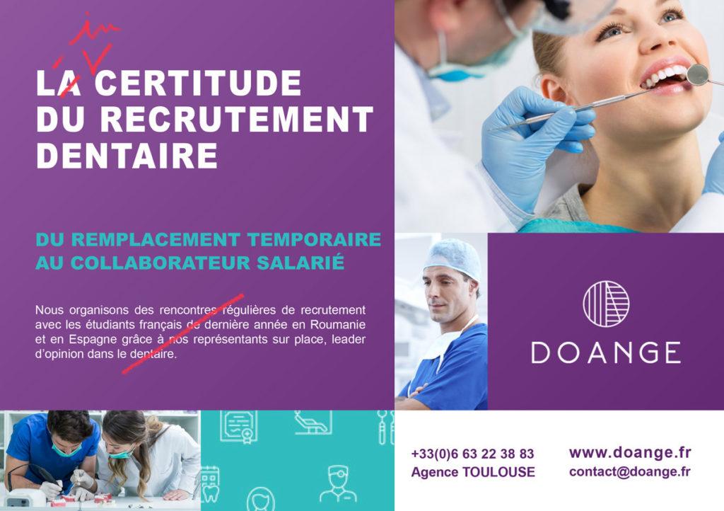 L'incertitude du recrutement dentaire en temps de COVID